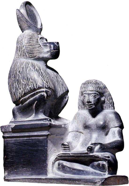 Dieu Thot et scribe, Textredaktion